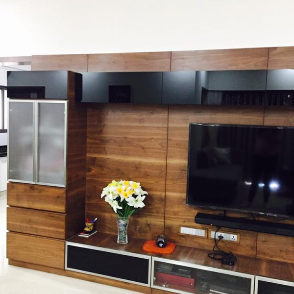 tv board interior design
